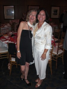 Connie Knight and Anna Spinale Rhodes